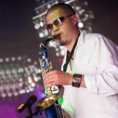 Saxophonist für ihre Hochzeit